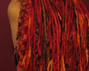 Burning Man Tribal Wicked Dreadfalls Custom Colors
