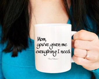 Gilmore Girls Gift, For Mom, Mom Mug, Gilmore Girls Mug, Gift, Mug for Mom, Rory Gilmore Mug, Lorelai Gilmore, Coffee Mug for Mom