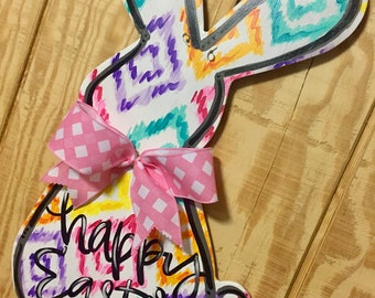 Colorful Bunny Hanger