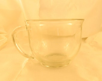 Clear glass latte cup mug craft supply party gift favor
