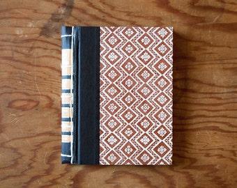 brown handmade journal // hard bound journal