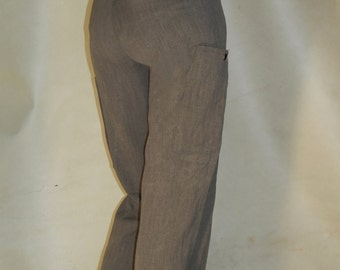 Loose Fitting Stylish Grey Trousers 30W 33L