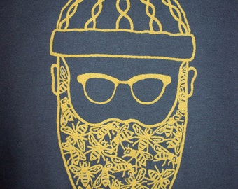 Men's - Beard of Bees t-shirt