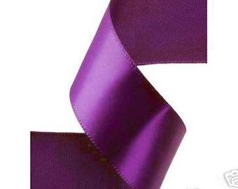 7/8 x 25  yds Single Face Satin Ribbon -- PURPLE HAZE