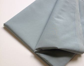Gray green cotton fabric, natural fabric, summer wear, lightweight fabric, for shirts, dresses and tops