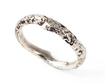 Men's Simple Twig Ring