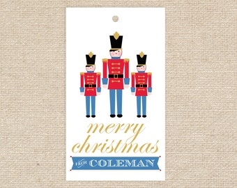 Printable Toy Soldier Gift Tags