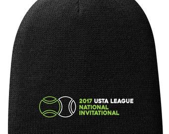 2017 USTA National Invitational Fleece Beanies