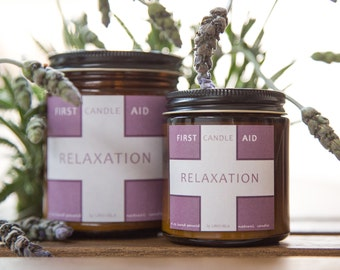 Soy candle 4 oz Relaxation, organic candle, scented candles, vegan candle