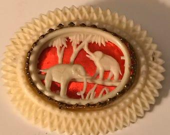 Elephant Pin / Brooch Vintage