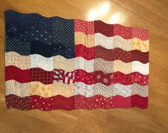 Scrappy Flag Tabletopper