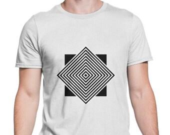 The Squares T-Shirt Grunge Clothing funny fun tumblr hipster swag grunge goth punk new retro vtg geometirc pattern