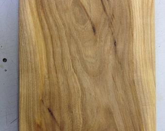 English Elm chucky chopping board or display platter