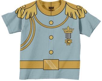 Prince Charming Shirt, Personalized Prince Charming Birthday T-Shirt, Boys Prince Shirt