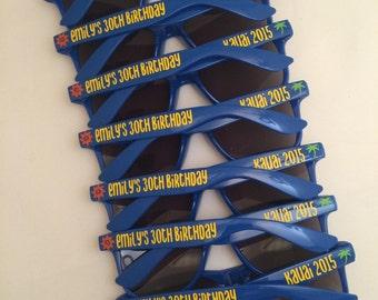 Bachelorette Party Wedding Party Favors, Bachelorette Gift, Bachelorette Sunglasses, Bach Bash, Vacation Sunglasses