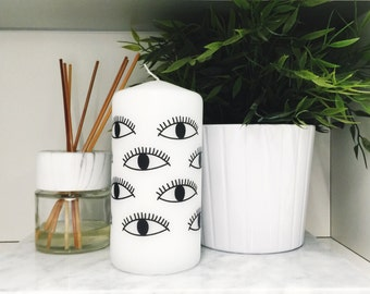 Evil Eye Inspired Candle