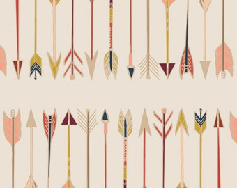 Fletching Chant from Wild & Free - Maureen Cracknell - Art Gallery Limited Edition - 100% Quilters Cotton - Yards, Half Yards, Fat Quarters