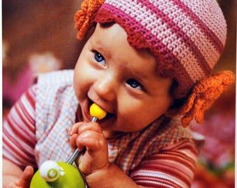Tutorial crochet little Beanie