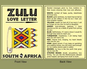 The Zulu love letter