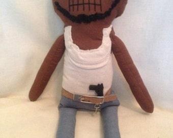 Oscar - Inspired by TWD - Creepy n Cute Zombie Doll (P)