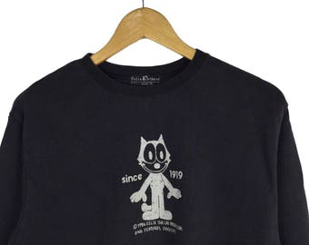 Vintage Felix the Cat Sweatshirt Small Size