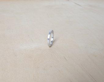 Bague minimaliste industriel bijoux sphère bague bijoux contemporains Design