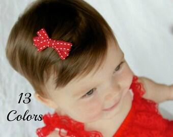 Baby Hair Clips, Baby Hair Bows, Newborn Hair Bows, Baby Clips for Fine Hair, Toddler Hair Bows, Hair Bows, Hairbows, Baby Bows, Snap Clip