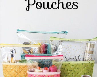 Hello Pouches Sewing Pattern Knot and Thread Designs - Bag Pattern