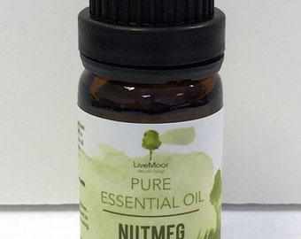 Nutmeg Essential Oil, 10ml