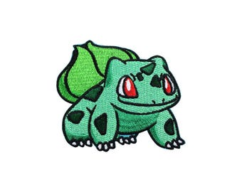 Bulbasaur Patch Pokemon Patch Cartoon Game Patch Iron on Patch Sew On Patches