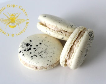 Cookie Dough French Macarons