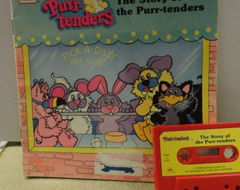 Childs Book The Purr-Tenders With Listen and Read Along Cassette Tape.