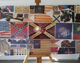 Civil War collage