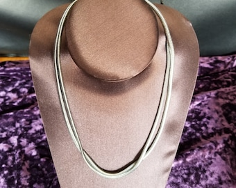 Vintage 35 inch Snake Chain