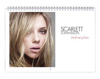 Scarlett Johansson Vol.2 - 2018 Calendar