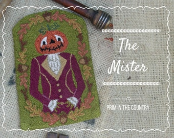 The Mister Punch Needle Pattern