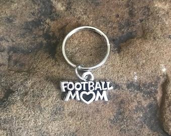 Football Mom Keychain, Football Player, High School Football, Touchdown, MVP, Gridiron, accesories, College Football, Gifts Under 5
