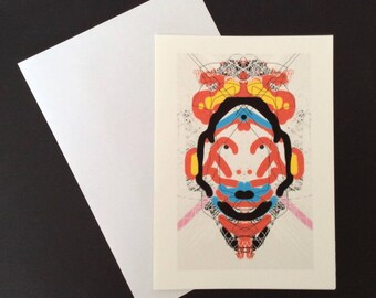 Deity Rorschach Card