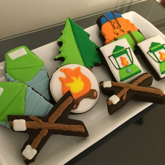Camping Cookie Set