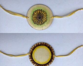 Sunflower Thaumatrope