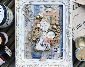 Vintage Boutique-An Altered Frame