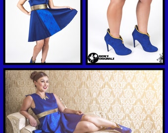 General Leia Dress & Shoes