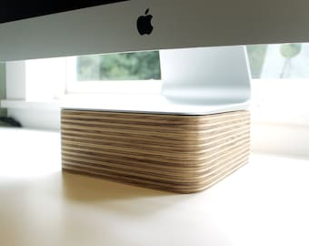 iMac Stand | 3-inch tall Monitor Stand for iMac | Display Stand for iMac
