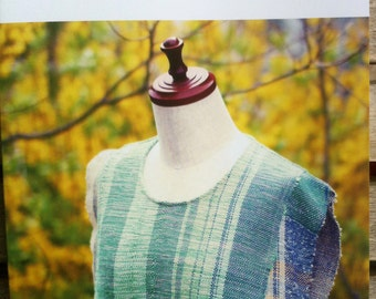 NEW - Intermediate Saori Clothing Design book by SaoriNoMori
