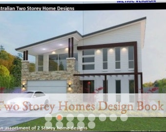 Two Storey House Design Book - OVER 50 2 Storey Home Designs  | 2 story homes | 2 story plans  | 2 storey house plans  | 2 storey