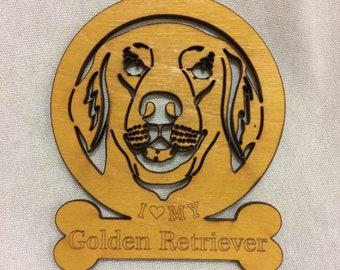 Golden Retriever Dog Ornament