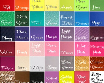 Bridal tulle color swatch sample fabric choice Up to ten 10 colors