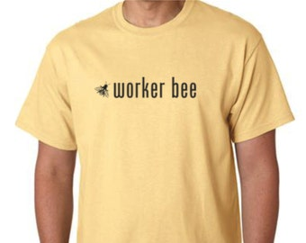 Imker-T-Shirt-Honey Bee T-Shirt - Worker Bee Tee Shirt - - Imkerei T-Shirt - Imker Shirt
