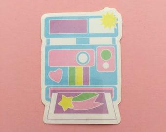 Pastel Camera Vinyl Sticker