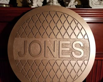 Personalized Manhole Cover